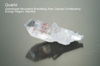 クォーツ 結晶 ナミビア産|Goboboseb Mountains, west of Brandberg Mountain, Erongo region, Namibia|Quartz|水晶|