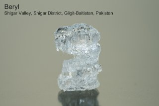 ベリル 蝕造結晶 Etching Beryl パキスタン産|Beryl|Shigar Valley, Shigar District, Gilgit-Baltistan, Pakistan|
