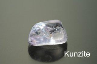 【お守り石】クンツァイト SA ミニお守り石 パキスタン産|綺麗な結晶から加工|Kunzite|
