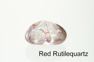 【お守り石】レッドルチルクォーツ お守り石 ブラジル産|Brazil|Red RutileQuartz|金紅石|