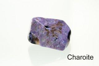 【お守り石】チャロアイト お守り石 ロシア産 チャロ石 Charoite 