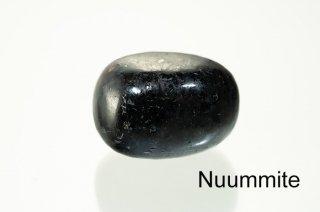 【お守り石】ヌーマイト お守り石 Nuummite|角閃石片麻岩|