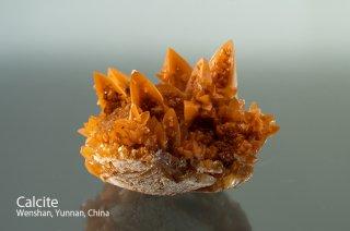 カルサイト 結晶 チャイナ 方解石 Calcite Wenshan Mine, Wenshan City, Wenshan, Yunnan, China