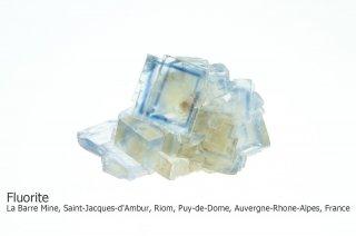 フローライト 結晶 フランス産|La Barre Mine, France|フランス産|蛍石|Fluorite|
