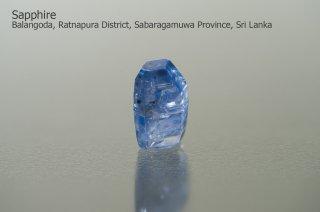 サファイア 結晶 スリランカ産|Balangoda, Ratnapura,  District, Sabaragamuwa Province, Sri Lanka|コランダム|蒼玉|