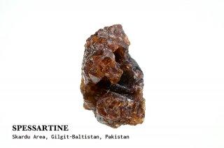 スペッサルティン 結晶 パキスタン産|Spessartine|Skardu Area, Gilgit-Baltistan, Pakistan|満礬柘榴石|