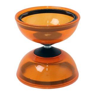 ミスターババッシュ ディアボロトルネードクリスタル 固定軸 オレンジ
