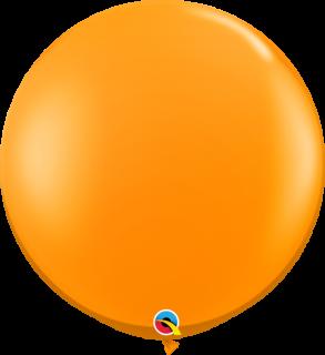 ラウンド 3フィート マンダリンオレンジ