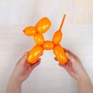 【簡単バルーンアート】バルーンドッグの作り方