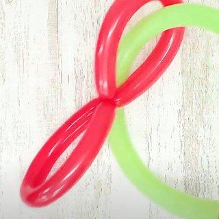 【簡単バルーンアート】輪っかリングの作り方
