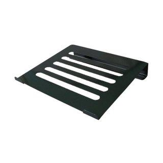 ノートパソコン用 PCスタンド 角度固定タイプ ブラック AME-NPC02bk