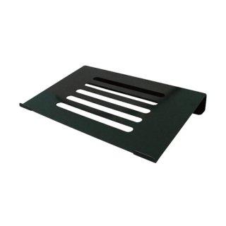 ノートパソコン用 PCスタンド 固定式 ブラック AME-NPC03bk