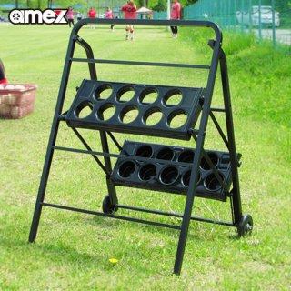 折りたたみ式 バットスタンド3 AMEX-C04 持ち運び簡単 野球 ソフトボール 青木製作所