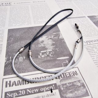DIFFUSER CANDY TONE STICH GLASS CODE /Black & Grey