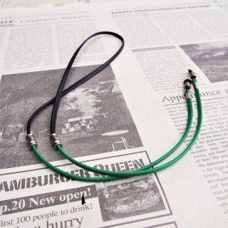 DIFFUSER CANDY TONE STICH GLASS CODE /Black & Green