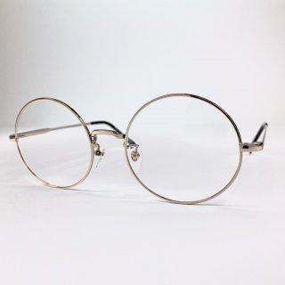 日本製丸眼鏡 レンズサイズ54mm ゴールド