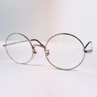 日本製丸眼鏡 レンズサイズ52mm ゴールド