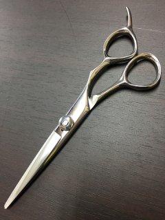 【美品】ミズタニシザーズ 5.8インチ カットシザー ハマグリ刃 3Dハンドル