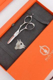 【美品】ミズタニシザーズ ACRO Baby leaf  4.3インチ ハマグリ刃 3Dハンドル アクロ ベイビーリーフ