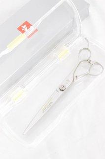 【美品】光シザー BLAZE 574 刈上用 7インチ ハマグリ刃 オフセットハンドル ブレイズ カットシザー