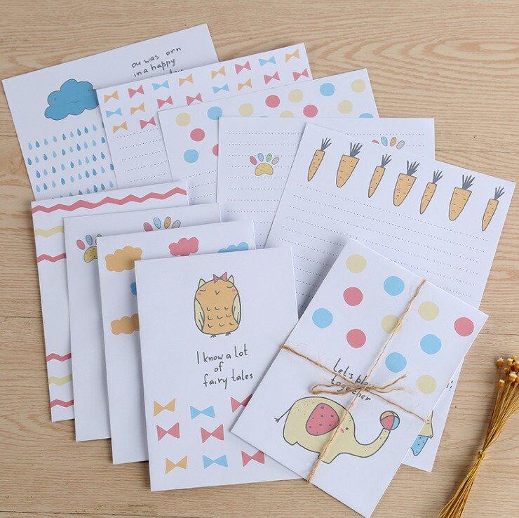 封筒 キレイな封筒 包装用アクセサリー 小物入れ アクセサリー プレゼント 封筒10枚手紙10枚セット