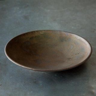 金泥釉 5寸丸皿 磁器