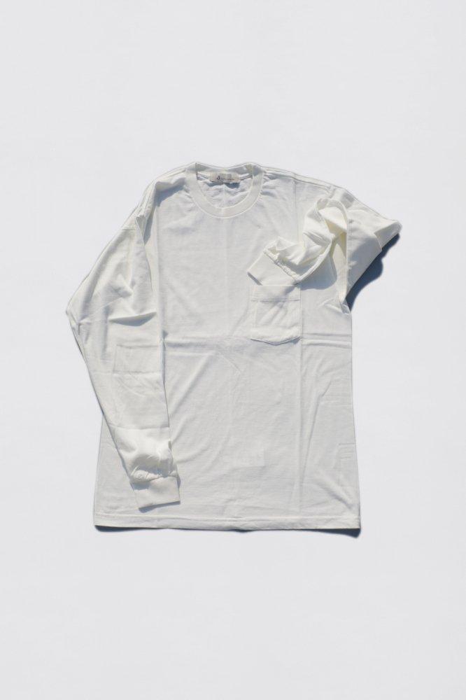 Organic extra long cotton backstitch L/tee