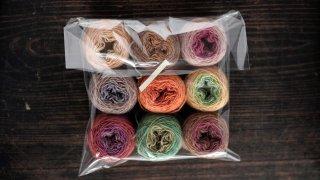 ラトビア毛糸の福袋