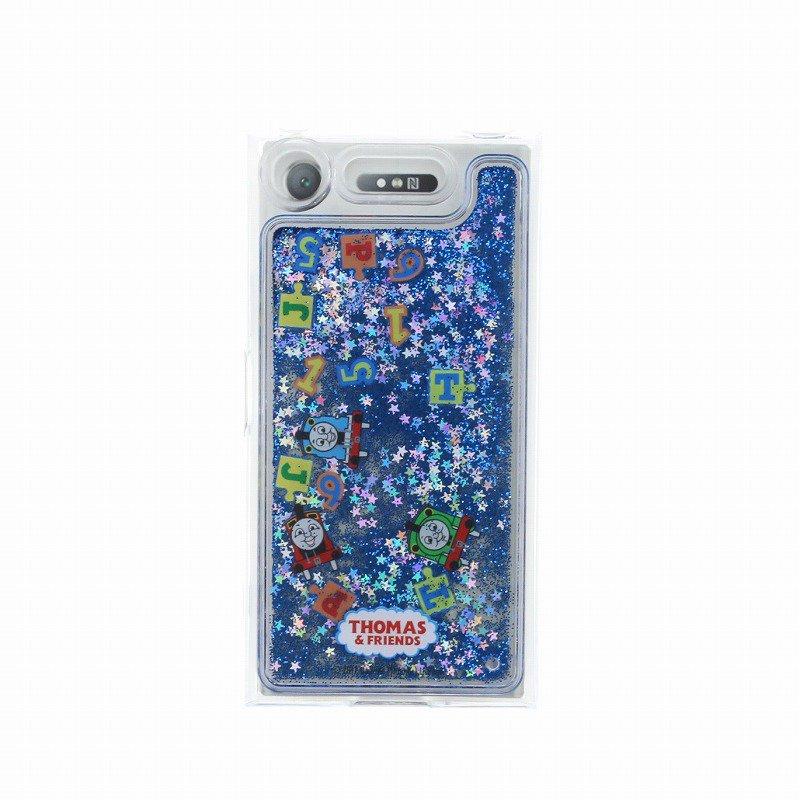 ピングー 【生産終了品】Xperia XZ1対応 グリッターケース(ブルー) LP-XPXZ1GTHOA TO