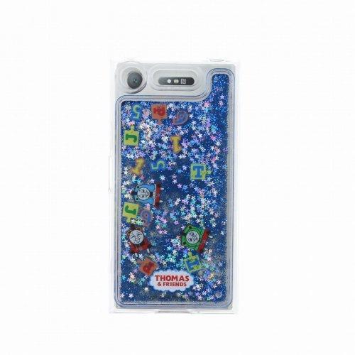 【生産終了品】Xperia XZ1対応 グリッターケース(ブルー) LP-XPXZ1GTHOA TO