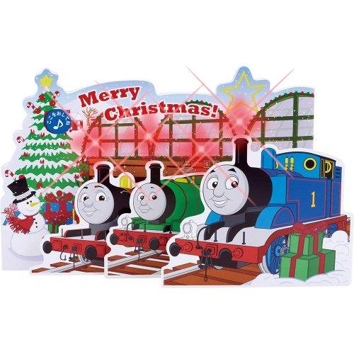 クリスマスミュージックカード(トーマス)X15809 TO
