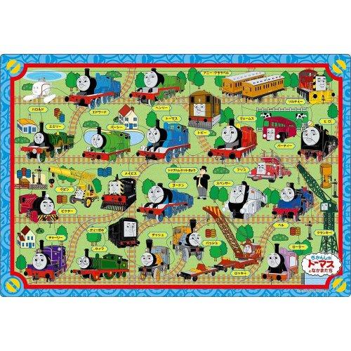 【35ピース】ピクチュアパズル「きかんしゃトーマス せんろをつなごう」 26-228 TO