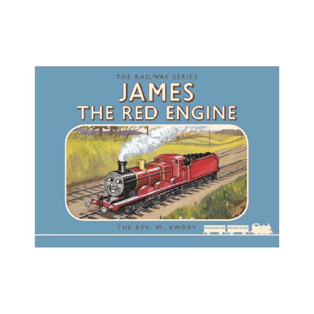 【英語のえほん】Thomas the Tank Engine The Railway Series: James the Red Engine  TO グッズ