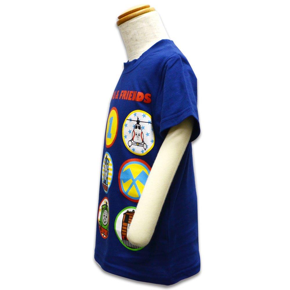 ピングー Tシャツ(ネイビー)110 042TM0021 TO