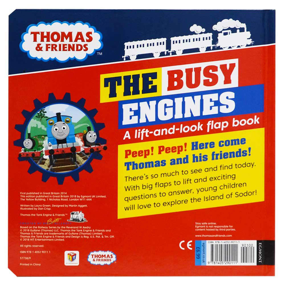 ピングー Busy Engines Lift-the-Flap Book  TO