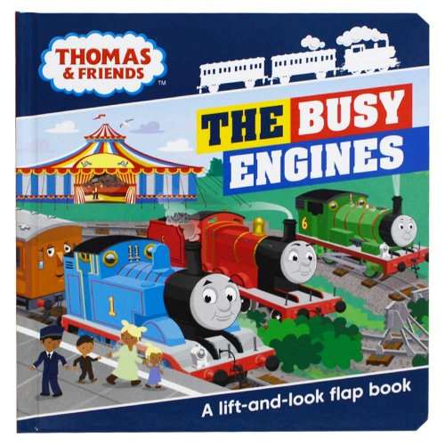 Busy Engines Lift-the-Flap Book  TO