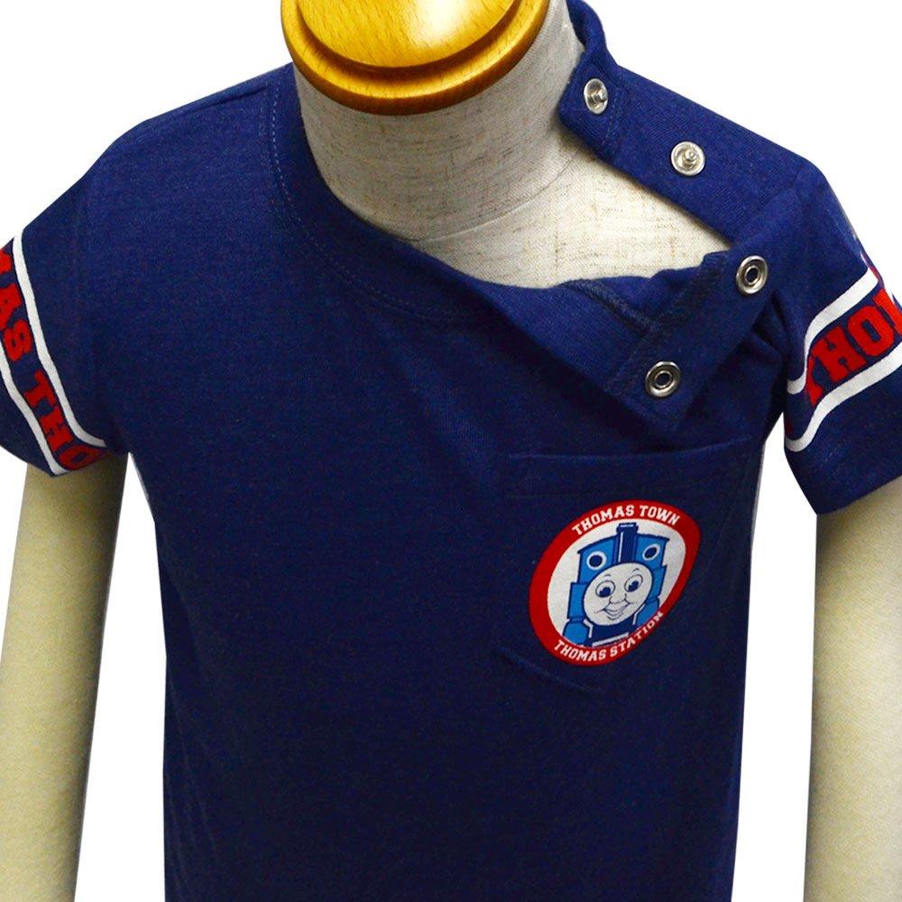 ピングー ユニフォーム風Tシャツ(ネイビー)90cm TO