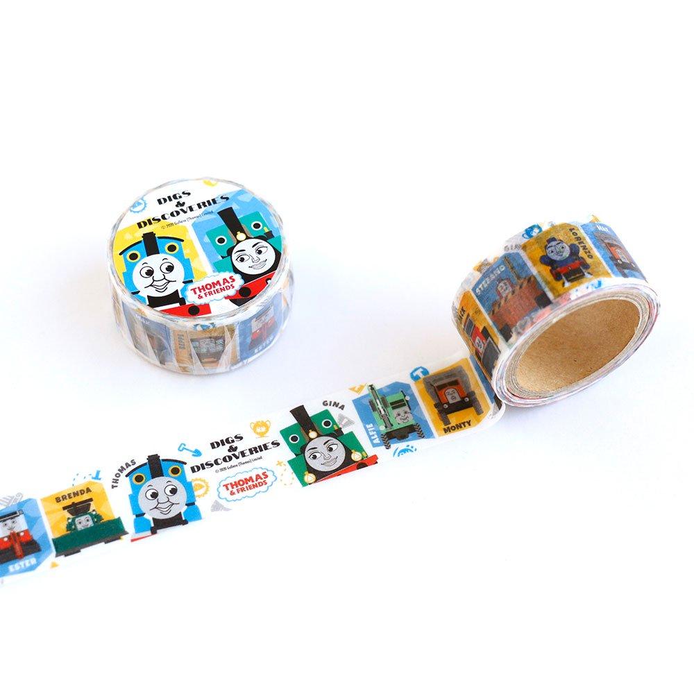 ピングー マスキングテープ (DIGS & DISCOVERIES) KT00004-34 TO