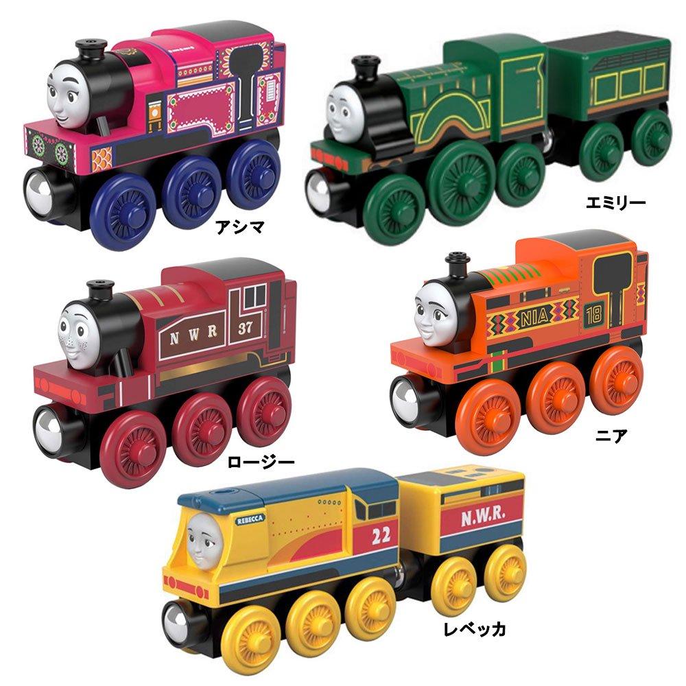 ピングー 【木製レール限定セット】「女の子機関車」5点セット  TO