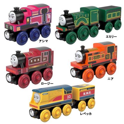 【木製レール限定セット】「女の子機関車」5点セット  TO