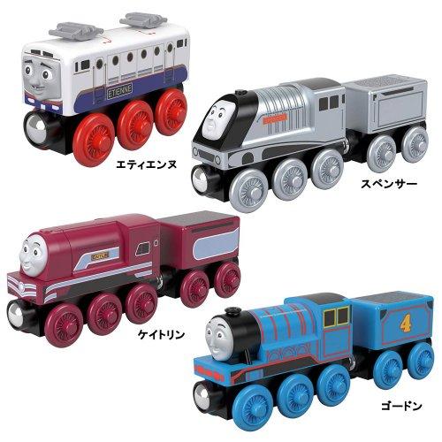 【木製レール限定セット】「スピードに自信がある機関車」4点セット  TO