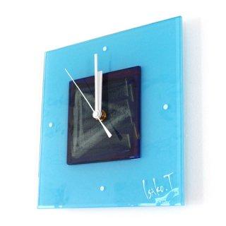 ガラスアート時計・「direction」