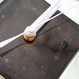 ガラスアート時計・「小さな夜」
