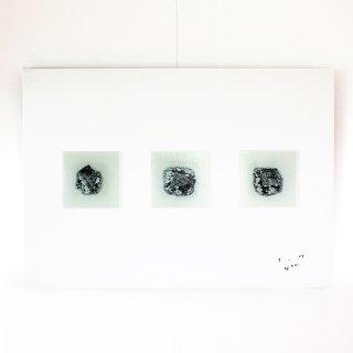 アートガラスパネル「雪の朝」