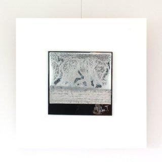アートガラスパネル「雪もよう」