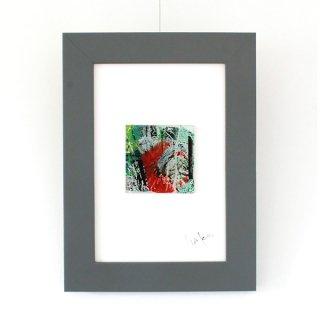 アートガラスパネル「南の森」