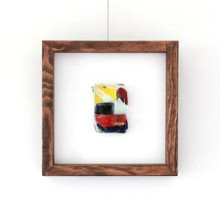アートガラスパネル「冬の太陽」