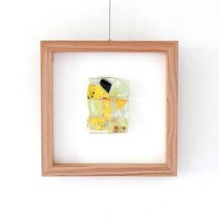 アートガラスパネル「春の風」