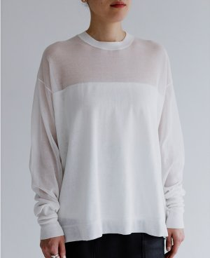 HIGH GAUGE KNIT PULLOVER