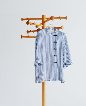 STRIPE CHINA SHIRTS